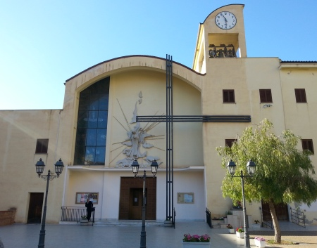 Immagine della chiesa della Beata Vergine Maria di Fatima a Sciacca: